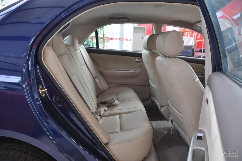 2009款比亚迪f3r 1.5l gl-i金钻版舒适型 - 后排座椅