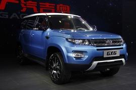 吉奥GX6 广州车展实拍