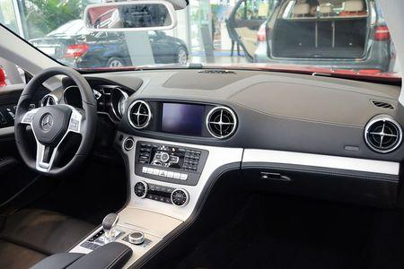 北京进口奔驰SL级购车即送1000元礼包高清图片