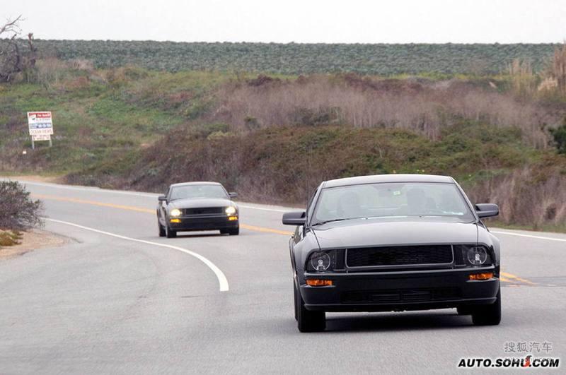 2008款福特野马bullitt