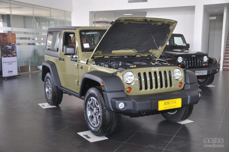 Jeep牧马人两门版图片】_2013款 3.6L 罗宾汉_底盘发动机 ...