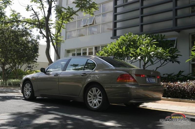 2004款宝马730Li实拍