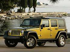Jeep吉普牧马人四门版 3.8L 撒哈拉