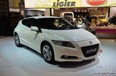 Honda混合动力车CR-Z荣获日本年度车大奖
