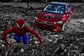 英雄救美 当蜘蛛侠遇到比基尼美女