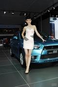 2011广州车展三菱4号车模