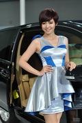 2011广州车展纳智捷3号车模