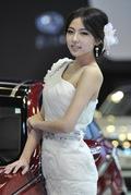 2011广州车展现代1号车模