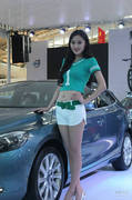 2013烟台春季车展模特图片