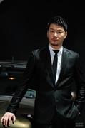 2011广州车展标致1号男模