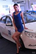 2013呼和浩特国际车展靓丽车模