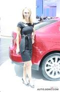 2010北美车展美女车模
