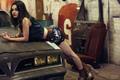 冷艳车模妖娆妩媚 长腿黑丝诱惑无限
