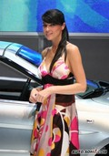 2009法兰克福车展美女模特