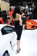 兰博基尼美女车模3