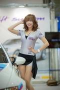 韩国车模俏皮可爱 笑容甜美身材火辣