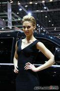 2010年日内瓦车展美女模特