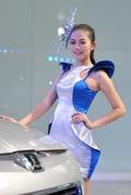 2011广州车展纳智捷1号车模