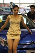 第一届江苏(南京)国际车展靓丽车模
