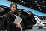 历届最高颜值导购齐上阵 车展销量猛增