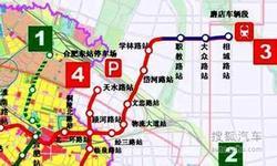合肥地铁1号线北延工程 下半年有望开建