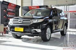 丰田汉兰达最高现金优惠2万元 现车销售!