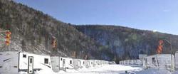 房车营地入驻雪乡 装修五星级酒店标准!