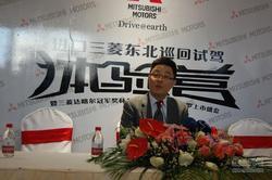 2015款帕杰罗上市发布 专访崔寒川本部长