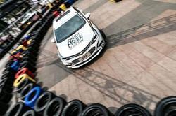 雪佛兰直通NASCAR 极速之城挑战赛天津站