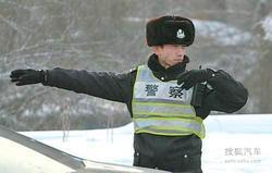 春节期间 张家口交警全天候加强路面管控
