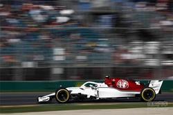 阿尔法罗密欧索伯F1车队自由练习赛备战忙