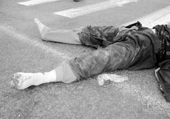 环卫工人凌晨被撞身亡