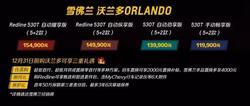 雪佛兰沃兰多现已到店 售11.99万-15.49万