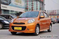 [上海]日产玛驰最高降价0.6万元现车充足