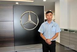 载誉归来 专访业乔瑞星奔驰中心技术经理