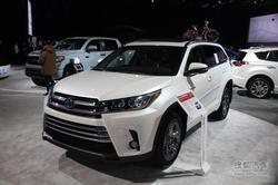2017款汉兰达正式上市 竞品车型行情对比