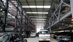 丹霞路环城西路口建机械车位将于9月运营