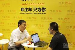 专访无锡吉美全球鹰4S店总经理 刘蔚先生
