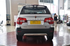 荣威W51.8T 4WD 豪域版正后图片