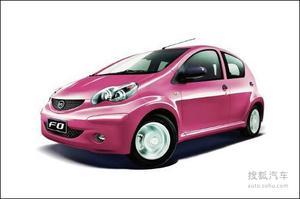 2012款比亚迪F0将5月8日上市 增一键启动