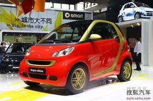 Smart龙年特别版正式上市 售价14.88万元