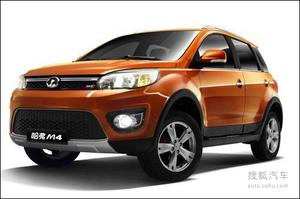 预计5月将上市 哈弗M4北京车展启动预订