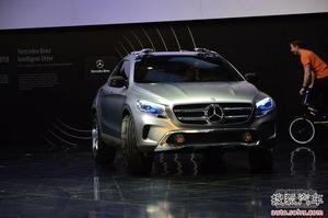奔驰GLA概念车上海车展首发 对手奥迪Q3