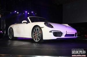 2012款保时捷911上市 售价147.6-183.3万