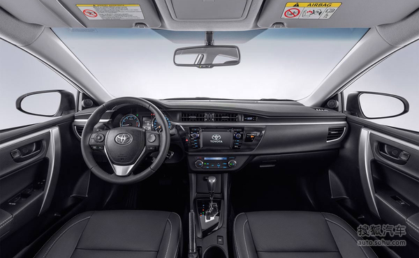 更多配置 丰田卡罗拉特别限量版官图发布