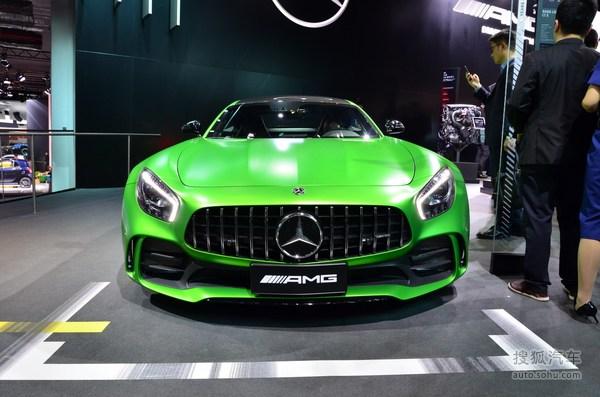 奔驰 AMG GT 实拍 外观 图片
