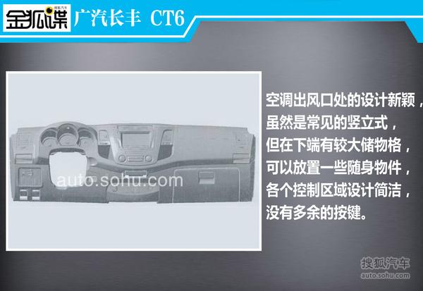 广汽长丰CT6谍照