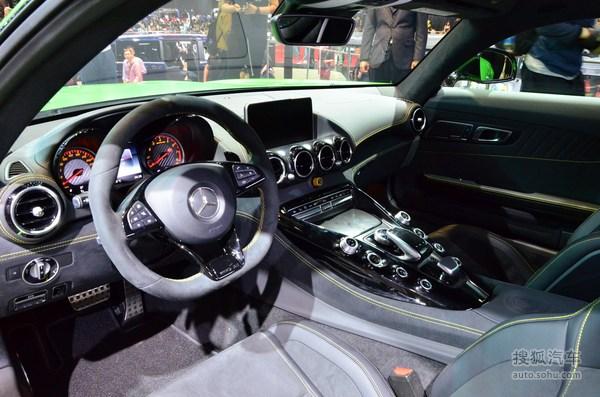 奔驰 AMG GT 实拍 内饰 图片