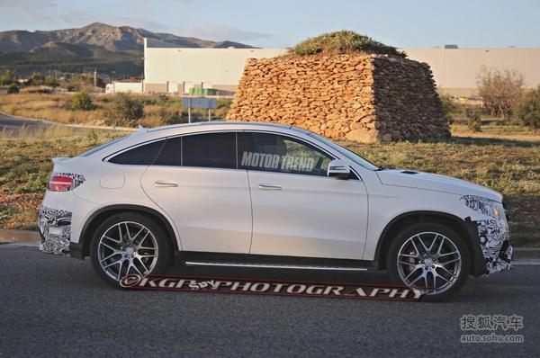 奔驰GLE63 AMG Coupe首曝! 北美车展发布