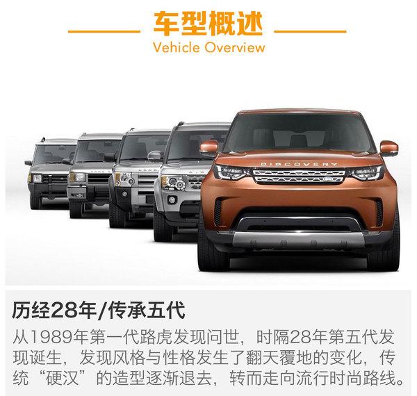 路虎全新发现将于3月2日上市 共推出5款车型